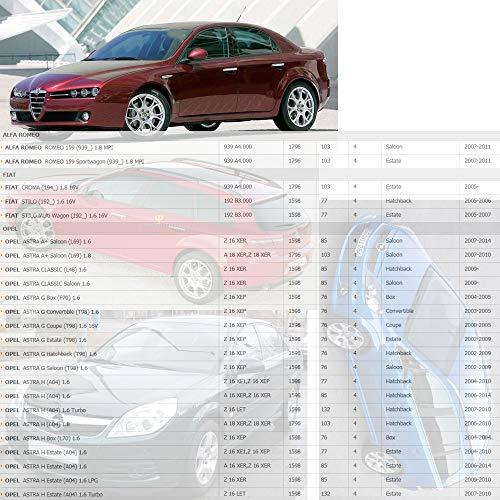 Amazon.com: 10458316 Ignition Coils For Alfa Romeo 159 Fiat Stilo Opel Astra A G H Corsa D Insignia Meriva Vectra C Zafira B Saab 9-5 Vauxhall 1.6L 1.8L ...