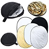 Photo Master 90x120cm 5in1 Collapsible Photo Studio Light Lighting Multi Reflector Carrybag