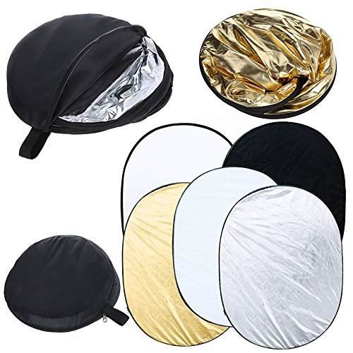 Photo Master 90x120cm 5in1 Collapsible Photo Studio Light Lighting Multi Reflector Carrybag by PHOTO MASTER