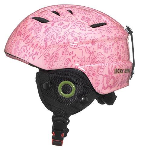 Lucky Bums Toddler Kids Alpine Doodlebug Ski Snowboard Sport Helmet