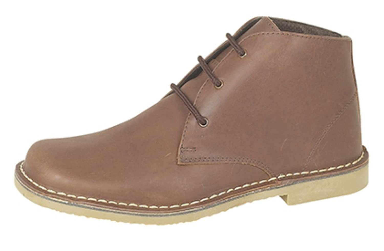 0caff2251b910a Roamers 3 Eyelet Desert Boots In Suede Or Waxy Leather Finish. 5 Colours.  Sizes