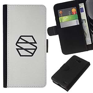 All Phone Most Case / Oferta Especial Cáscara Funda de cuero Monedero Cubierta de proteccion Caso / Wallet Case for LG OPTIMUS L90 // S meas súper
