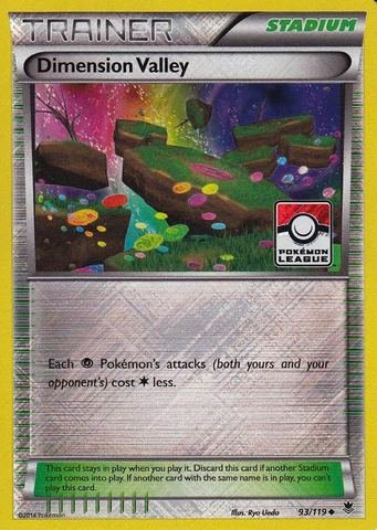 Pokemon - Dimension Valley (93/119) Promos