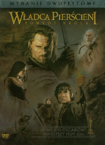 Lord of The Rings. The Return of The King, The [2DVD] (English audio. English subtitles) (Lord Of The Rings Extended Edition Subtitles)