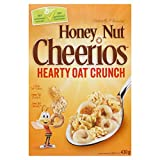 Cheerios Honey Nut Hearty Oat Crunch Cereal, 430 Gram