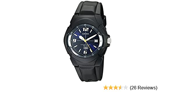Amazon.com: Casio Mens MW600E-2AV 10-Year Battery Analog Resin Watch: Casio: Watches