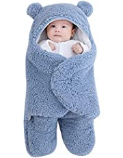 Winnfy Baby Swaddle Filnket Nyfödd Wrap Swaddle Filt Sovpåse Stroller Wrap Babies Sömnsäck Mjuk Andask Ta Emot Filtar