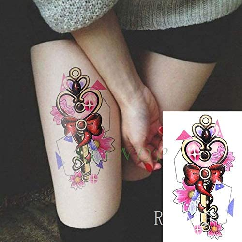 3 PC Precioso Tatto de Dibujos Animados Etiqueta engomada del ...