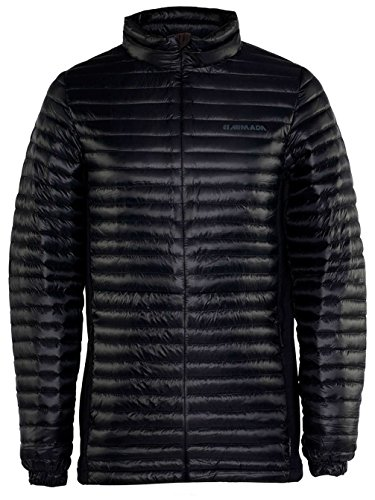 Armada Men's Sampson Down Jacket - Black - Large by Armada