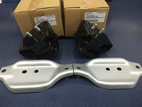 Genuine Subaru Group N Engine Mount Pair STi Impreza WRX Forester Legacy GT NEW 2002-2015 D1010FE110 D1010FE120 ()