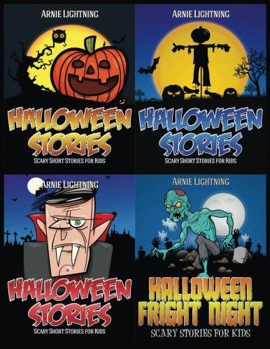 Halloween Stories (4 Books in 1): Spooky Stories, Halloween Jokes, and Halloween Activities (Haunted Halloween Fun) (Volume 2)]()