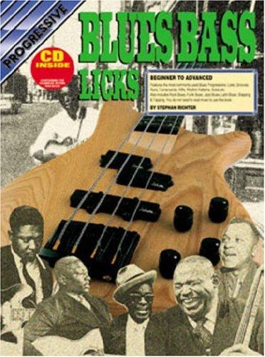 CP72644 - Progressive Blues Bass Licks - Blues Progressive Bass