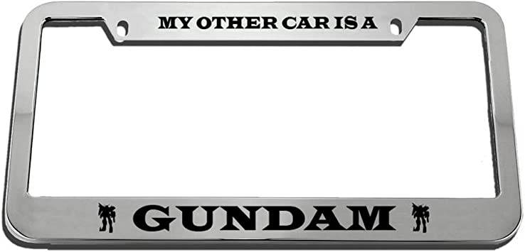 Chrome 2 Holes Speedy Pros Camping Life is Good Zinc Metal License Plate Frame Car Auto Tag Holder