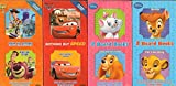 2 Board Books: Eight Classics, Roll Call, Ready for Action, The Big Race, The Whole Gang,The Aristocats, Lady and the Tramp, Bambi, The Lion King