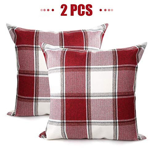 Set of 2 Christmas Throw Pillow Covers 18 x 18 Only $7.79 w/ Code