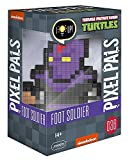 PDP Pixel Pals Teenage Mutant Ninja Turtles Foot Soldier Collectible Lighted Figure, 878-037-NA-FOOT