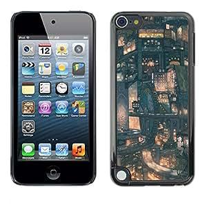 Stuss Case / Funda Carcasa protectora - Modelo de Futuro de la ciudad japonesa - Apple iPod Touch 5