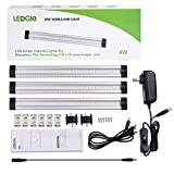 LEDGLE 12W LED Under Cabinet Lighting Kit Plug in,3