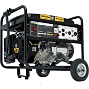 Steele Products SP-GG600, 5000 Running Watts/6500 Starting Watts, Gas Powered Portable Generator