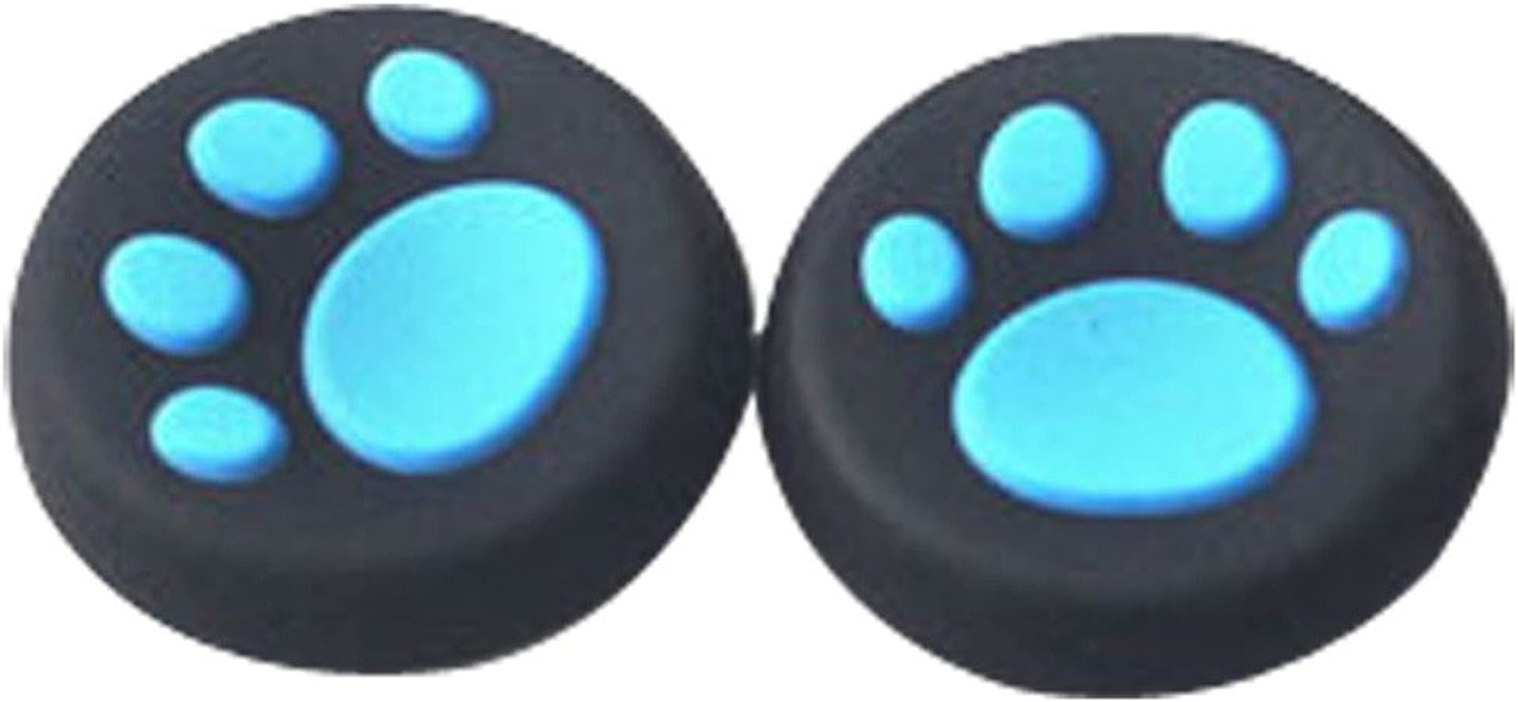 ❤️MChoice❤️1 Pairs Cat's Paw Silicone Gel Thumb Grips Caps for Nintendo Switch Controller