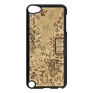 Awesome Magic Harry Potter Marauder's Map Hard Case Cover for Ipod Touch 5