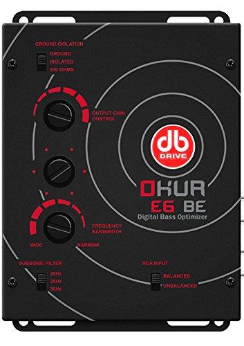 db Drive E6 BE Digital Bass Optimizer by Db Drive