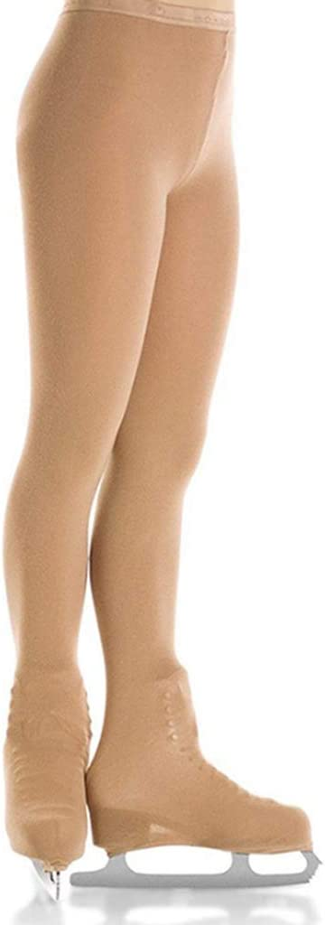 Comfortable /& Elastic Various Sizes CUTICATE Professional Girls Skating Tight Footed Pantyhose Stockings Socks for Kids Children Ice//Figure Skating
