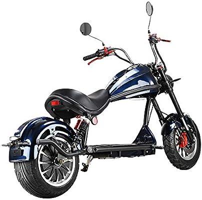 Yzyamz Motocicleta Eléctrica 2000W 45Km, Bicicleta Eléctrica ...