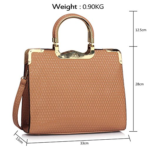Style Tote Patent Designer Nude Design Leather Handbags 1 Croc Shoulder Ladies Bags Womens New Fp80p