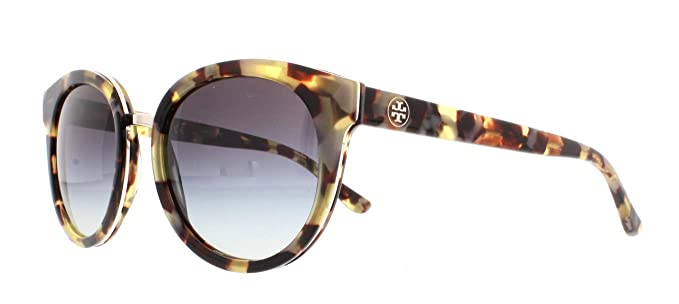 a7af2d65d4eb Amazon.com: Tory Burch Women's 0TY7062 Tortoise/Grey Gradient One ...
