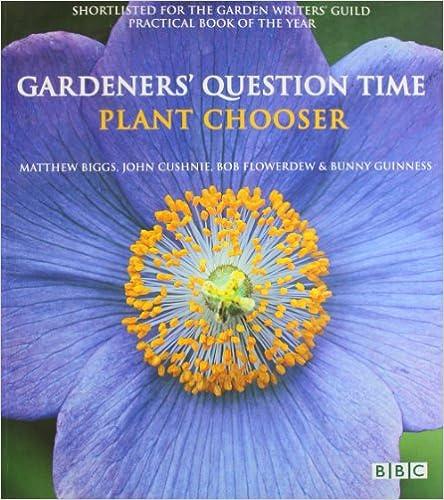 Livres en téléchargement gratuit en pdfGardener's Question Time: Plant Chooser 1856267857 (Littérature Française) PDF