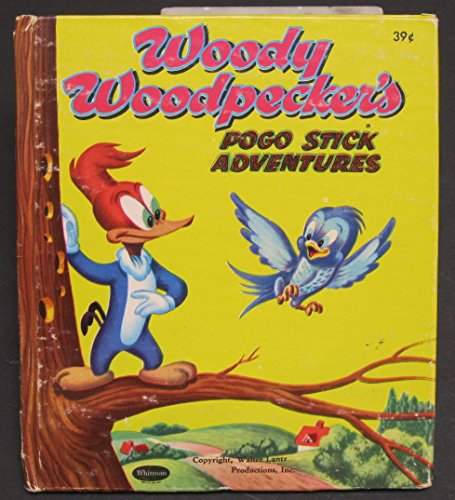 Tell-a-Tale Book-Woody Woodpecker's Pogo Stick Adventures