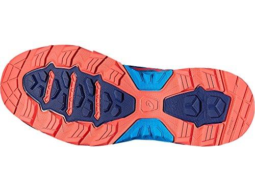 Asics Kvinder Fujitrabuco 5 Spor Løbesko Aqua Splash / Diva Lyserød / Indigo Blå Qb2Uld