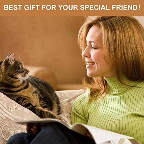 Toulifly Harnais pour chat avec laisse réglable pour petit chat et chien, Escape Proof Cat Harnais avec laisse, XS