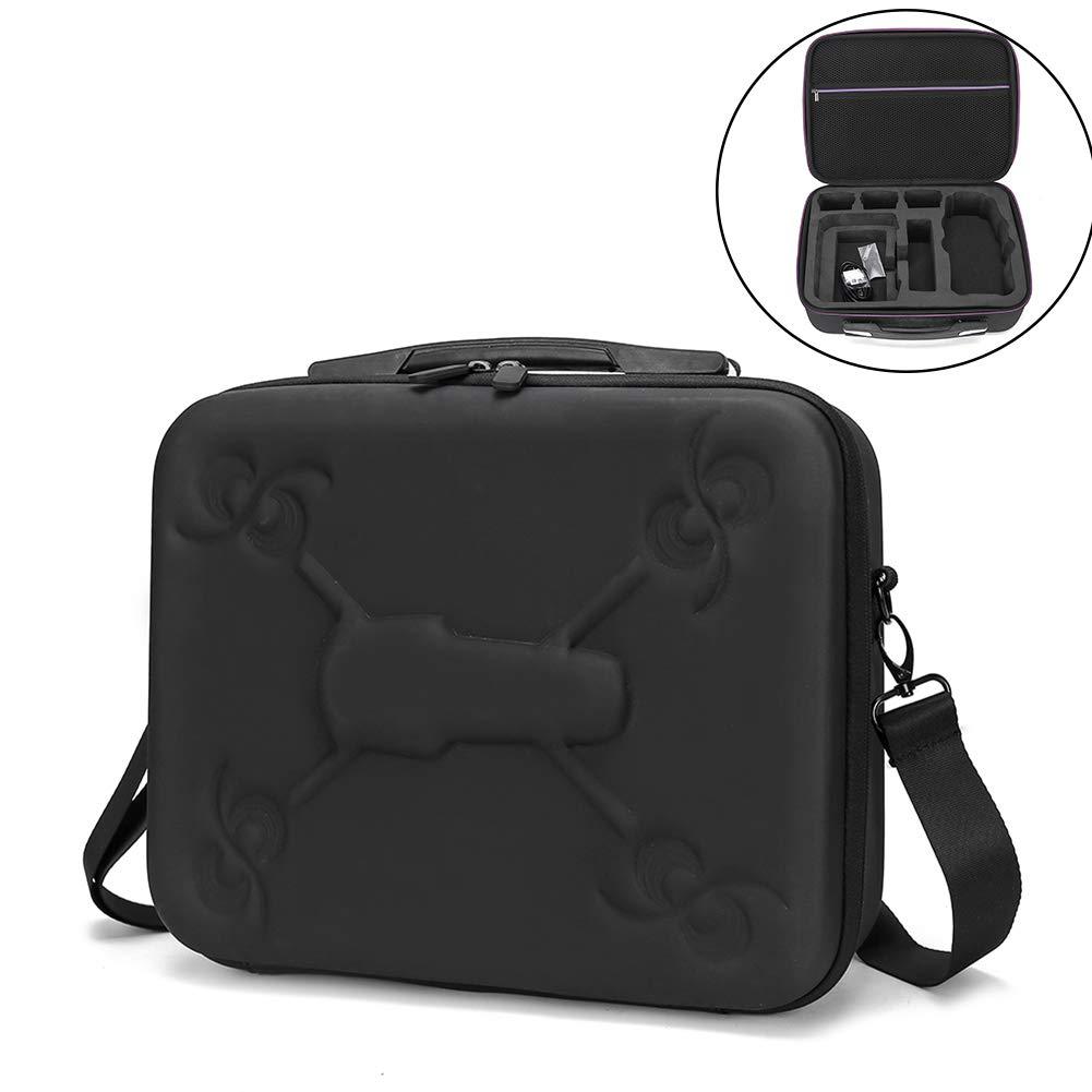 dezirZJjx Portable Shockproof Shoulder Bag for DJI MAVIC 2 PRO with Screen Remote Control Anti-dust, Scratch-proof Black
