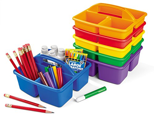 Lakeshore Classroom Supply Caddies 6 Color Set Buy