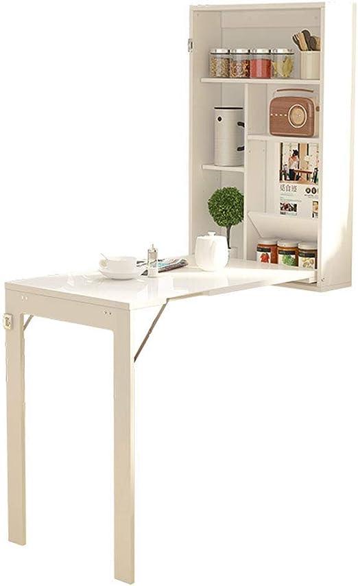 Home Bar Soporte de Mesa con escondite Mesa de Estudio Simplicidad ...