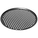 MDC Housewares Chloe's Kitchen 201-312 14-Inch Pizza Pan Perforated Pro Quality