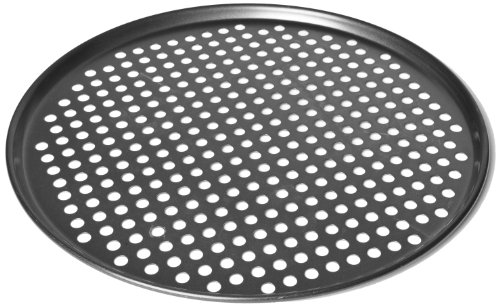 Chloe's Kitchen 201-312 14-Inch Pizza Pan Perforated Pro Quality