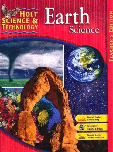 Holt Science & Technology: Earth Science, Teachers Edition
