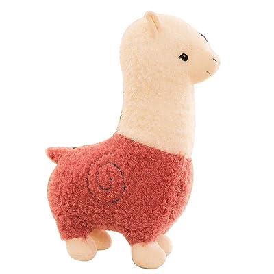 GoodKE Alpaca Doll Plush Toy Stuffed Animal Sleeping Pillow Birthday Gift Stuffed Animals & Teddy Bears: Home & Kitchen