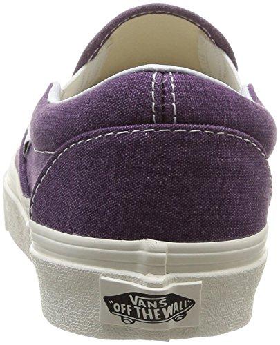 Vans U Classic - Zapatillas de Deporte de canvas Unisex Morado (Plum Purple)