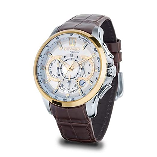 Reloj Duward Hombre Aquastar Silverstone D85531.00 [AC0077] - Modelo: D85531.00: Amazon.es: Relojes