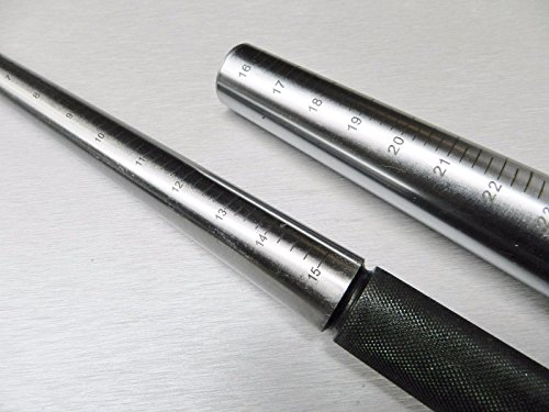 Graduated Bag (Graduated Round Plain Steel Mandrel & Graduated 1-15 & Jumbo Steel Ring Mandrel Sizes 16-24)