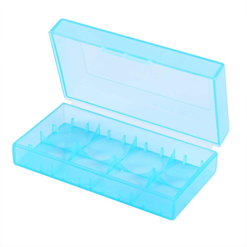 Mugast 10PCS 18350/18650 Battery Case, 5 Colors Plastic Battery Storage Box, Made of PP Raw Materials by Mugast (Image #3)