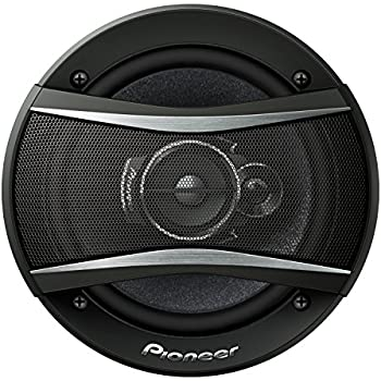 "Pioneer TS-A1676R 320W 6.5"" 3-Way TSA Series Coaxial Car Speakers"