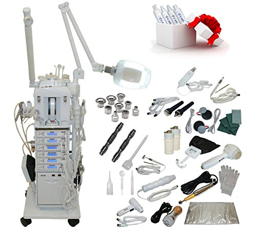 22 in 1 Elite Series Multifunction Diamond Microdermabrasion Facial Machine Salon Spa Beauty Equipment by LCL Beauty