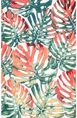 nuLOOM Hannah Floral Indoor/Outdoor Rug