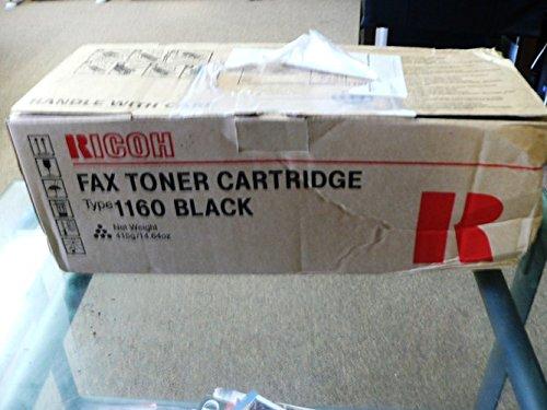 Ricoh FAX3320L Toner 5000 Yield Type 1160 - Genuine Orginal OEM toner