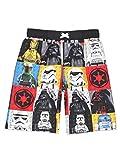 LEGO Star Wars Boy's Swim Trunks Swimwear (8, Black/Multi)